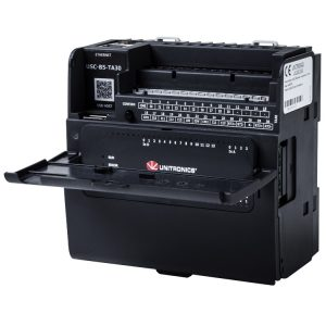 UniStream-PLC-controller-by-Unitronics-front-view-open